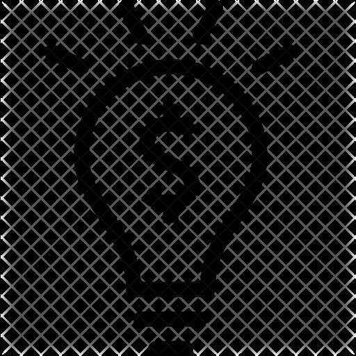 512x512 Finance, Money, Idea, Lightbulb, Business, Solution Icon