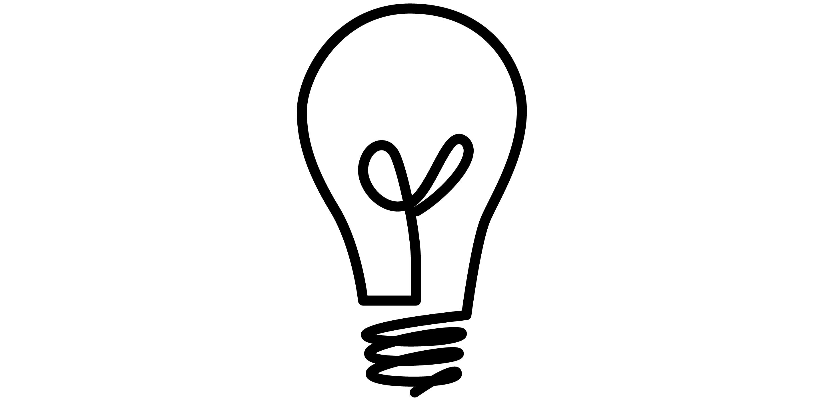 2881x1401 Light Bulb Idea Icon Clipart Panda