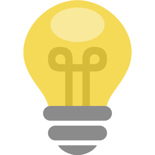 512x512 Bulb, Electric, Energy, Idea, Lamp, Light, Thought Icon Icon