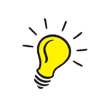 350x350 Light Bulb Idea Clipart