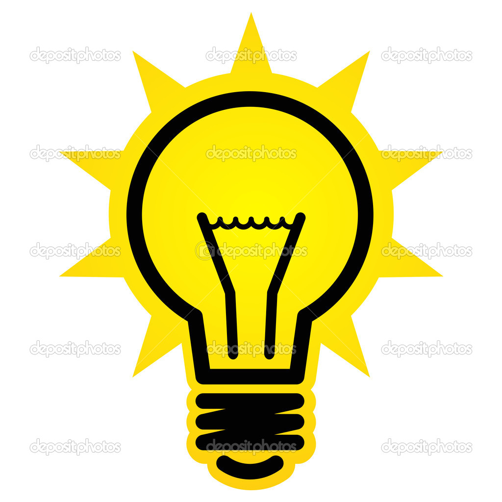 1024x1024 Light Bulb Idea Clipart