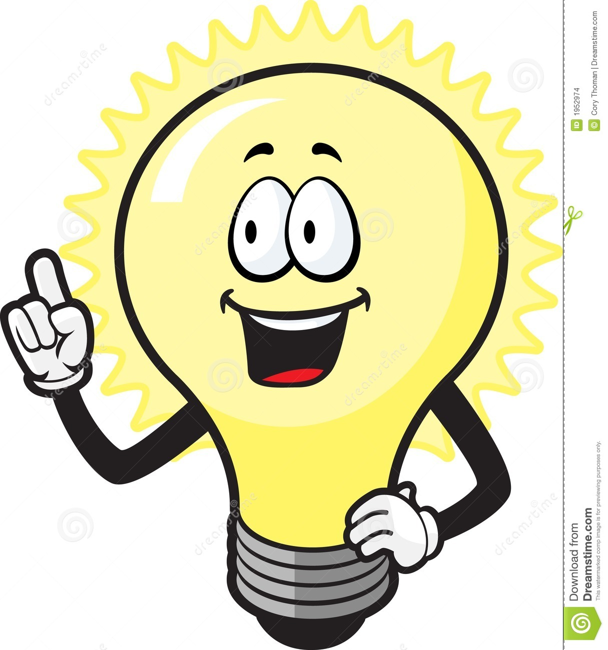 1215x1300 Light Bulb Clipart Cartoon
