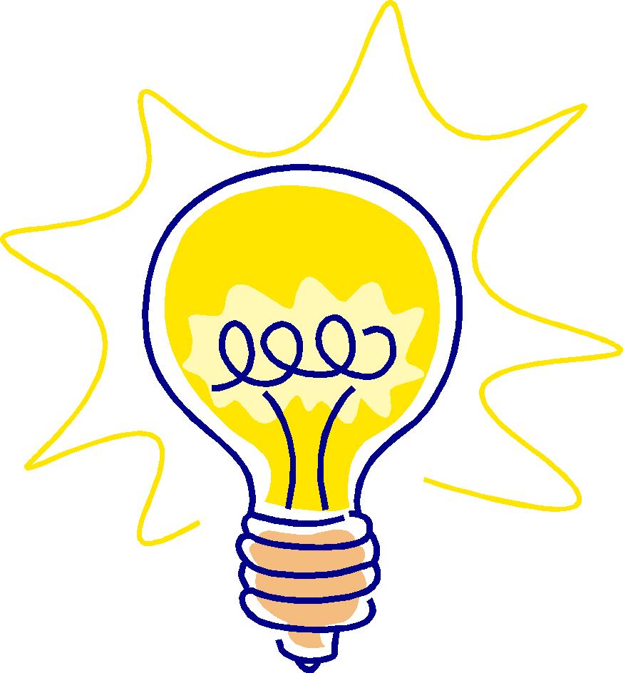 874x944 Lightbulb Light Bulb Clip Art Image 2