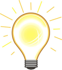 250x283 Light Bulb Moment Clipart