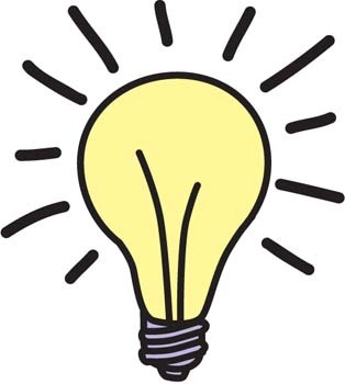 314x350 Light Bulb Moment Clipart