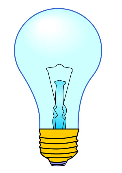 423x600 Light Bulb Clipart Electric Bulb