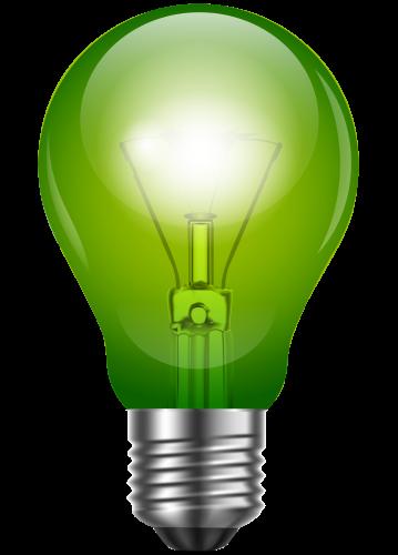 359x500 Green Light Bulb Png Clip Art