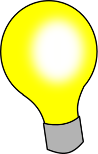 192x300 Animated Light Bulb Clipart