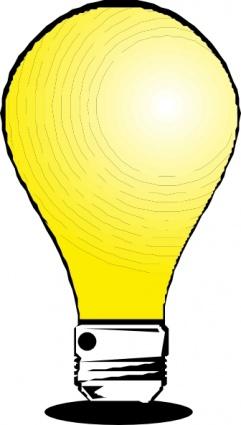 241x425 Led Light Bulb Clipart