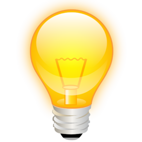 285x285 Light Bulb Six Isolated Stock Photo By