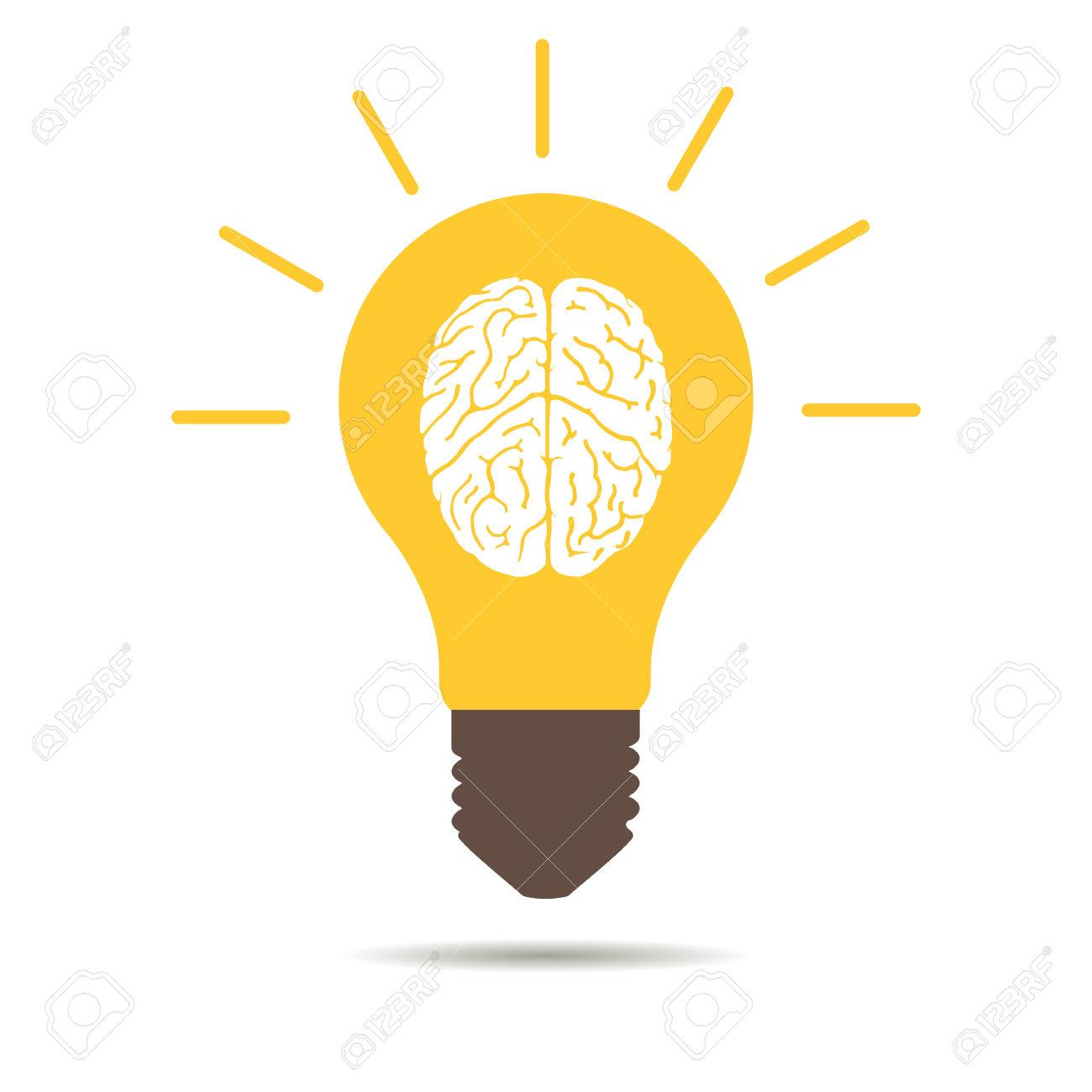 1300x1300 Light Bulb Clipart Brain