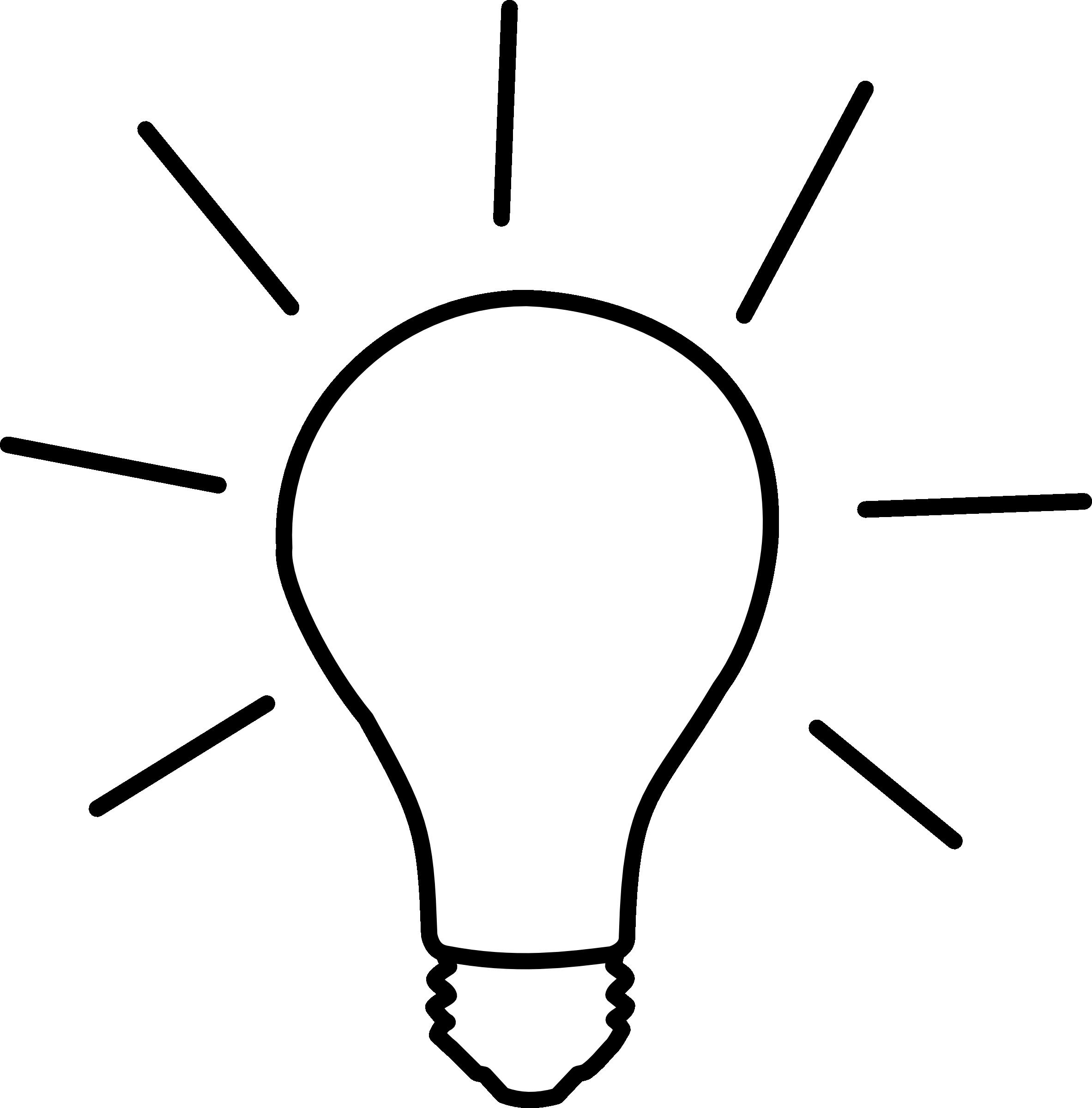 2365x2400 Light Bulb Clipart Transparent Background