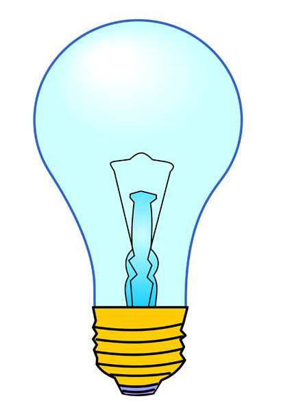 423x600 Light Bulbs Clipart