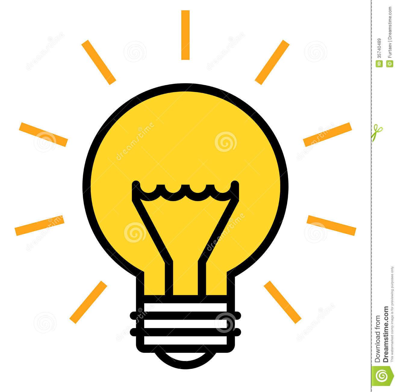 1322x1300 Lightbulb Graphic Clipart