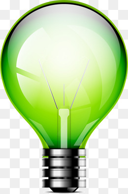260x392 Green Light Bulb Free Png Images And Psd Downloads Pngtree