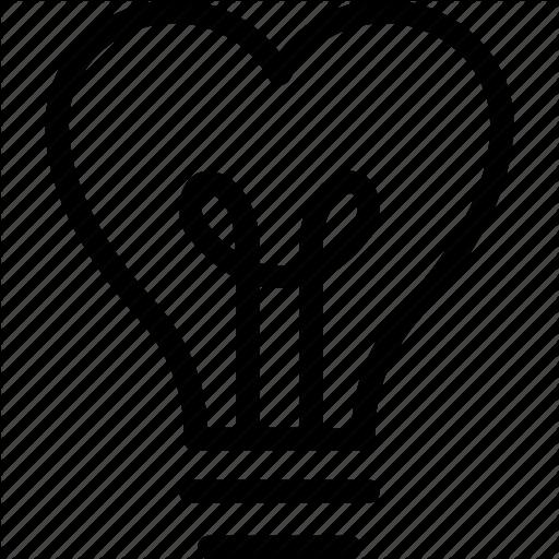 512x512 Light Bulb Clipart Heart