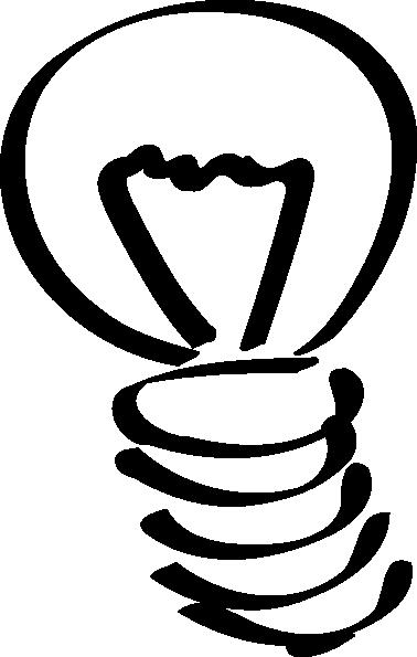 378x595 Lightbulb Sketch Clip Art Free Vector 4vector