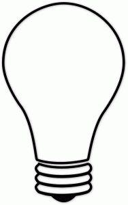 188x300 Book Week 2015. Light Bulb Template