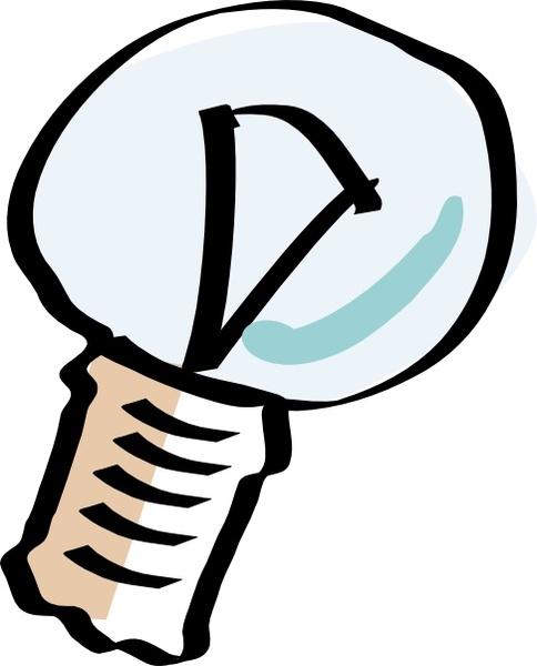 484x600 Cartoon Light Bulb Clip Art Free Vector In Open Office Drawing Svg