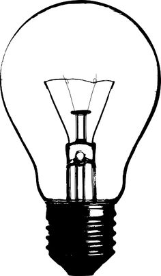 Light Bulb Outline