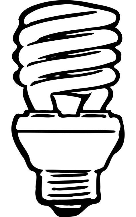 474x758 Light Bulb Outline Clip Art (50 ), Cfl Bulb Clip Art