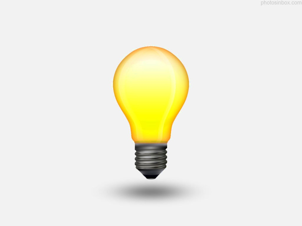 1024x768 Bulb Outline Clip Art