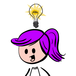 260x260 Light Bulb Above Her Head. Clipart Panda