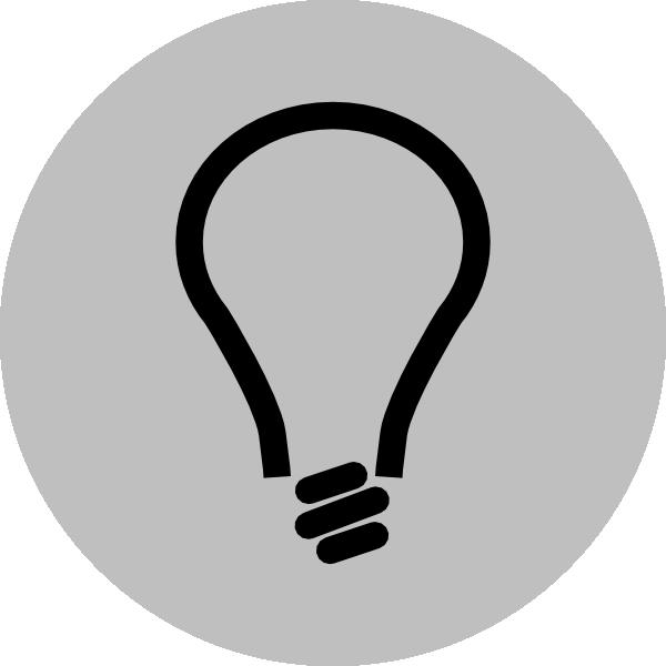 600x600 Light Bulb Clip Art