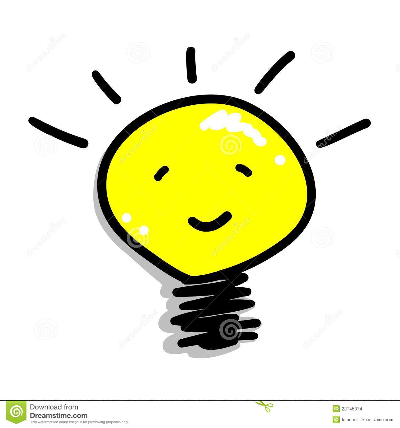 1300x1390 Cartoon Light Bulb Group