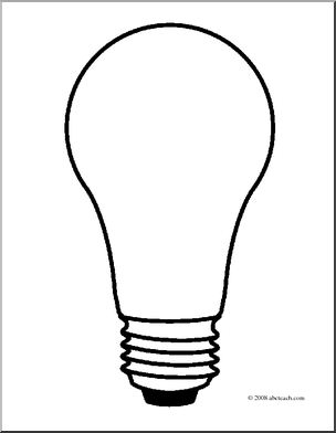 Light Bulb Template