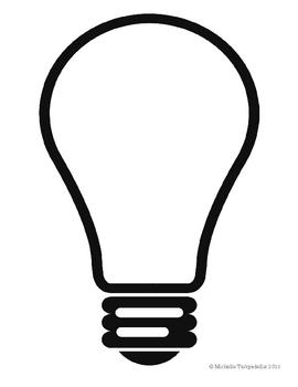 270x350 Light Bulb Shaped Book Template By The 3am Teacher Tpt