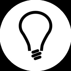 300x300 Light Bulb Lightbulb Template Free Clipart Images