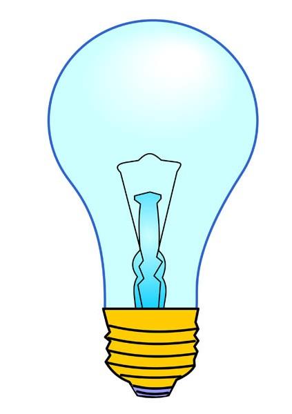 423x600 Incandescent Light Bulb Free Clip Art Illuminate Life