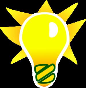 300x308 Led Light Bulb Clip Art Free Clipart Images Clipartix