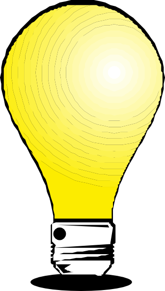 336x592 Light Bulb Clip Art
