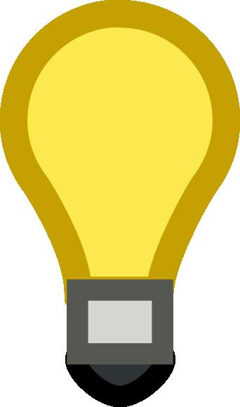 342x580 Light Bulb Clip Art Free Vector 4vector
