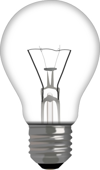 348x593 Light Bulb Clip Art Free Vector In Open Office Drawing Svg ( Svg