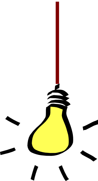324x599 Light Bulb Free Lightbulb Clipart 2 Pages Of Public Domain Clip