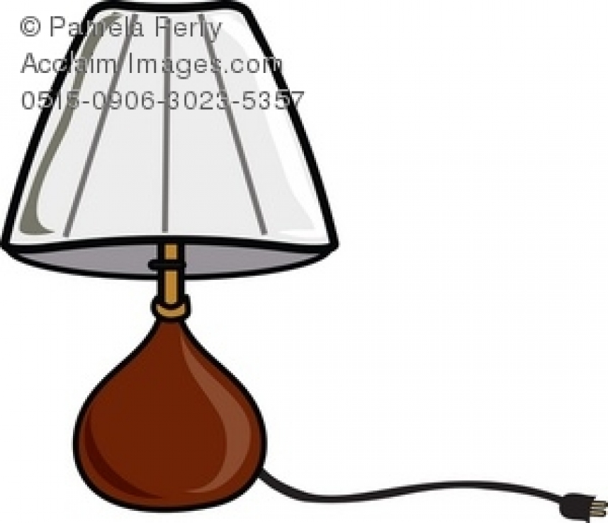 858x738 Light Shades Clipart