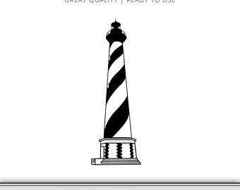 340x270 Lighthouse Silhouette Lighthouse Clip Art Dxf Svg