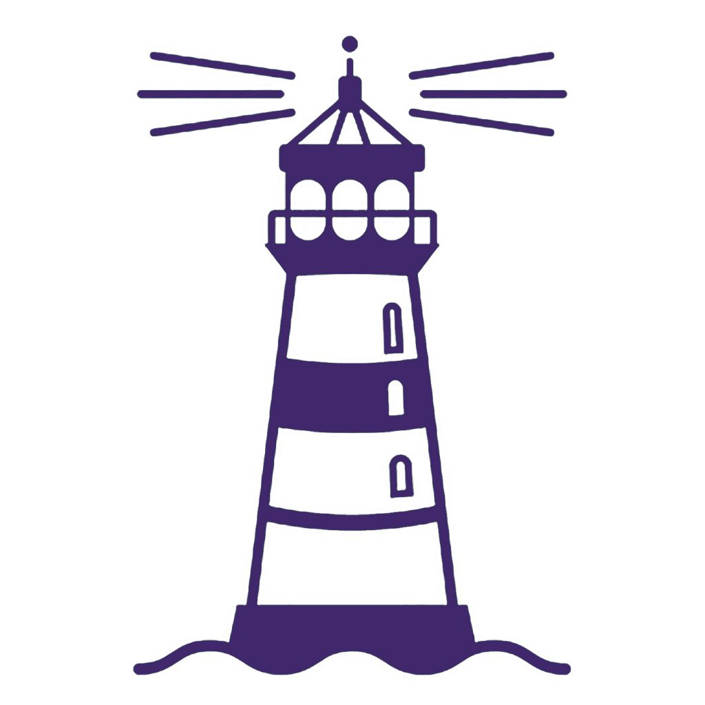 1024x1024 Lighthouse Clipart Purple