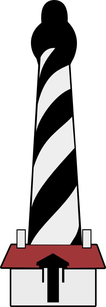 350x1006 St Augustine Lighthouse Svg St Augustine Lighthouse, Clip Art