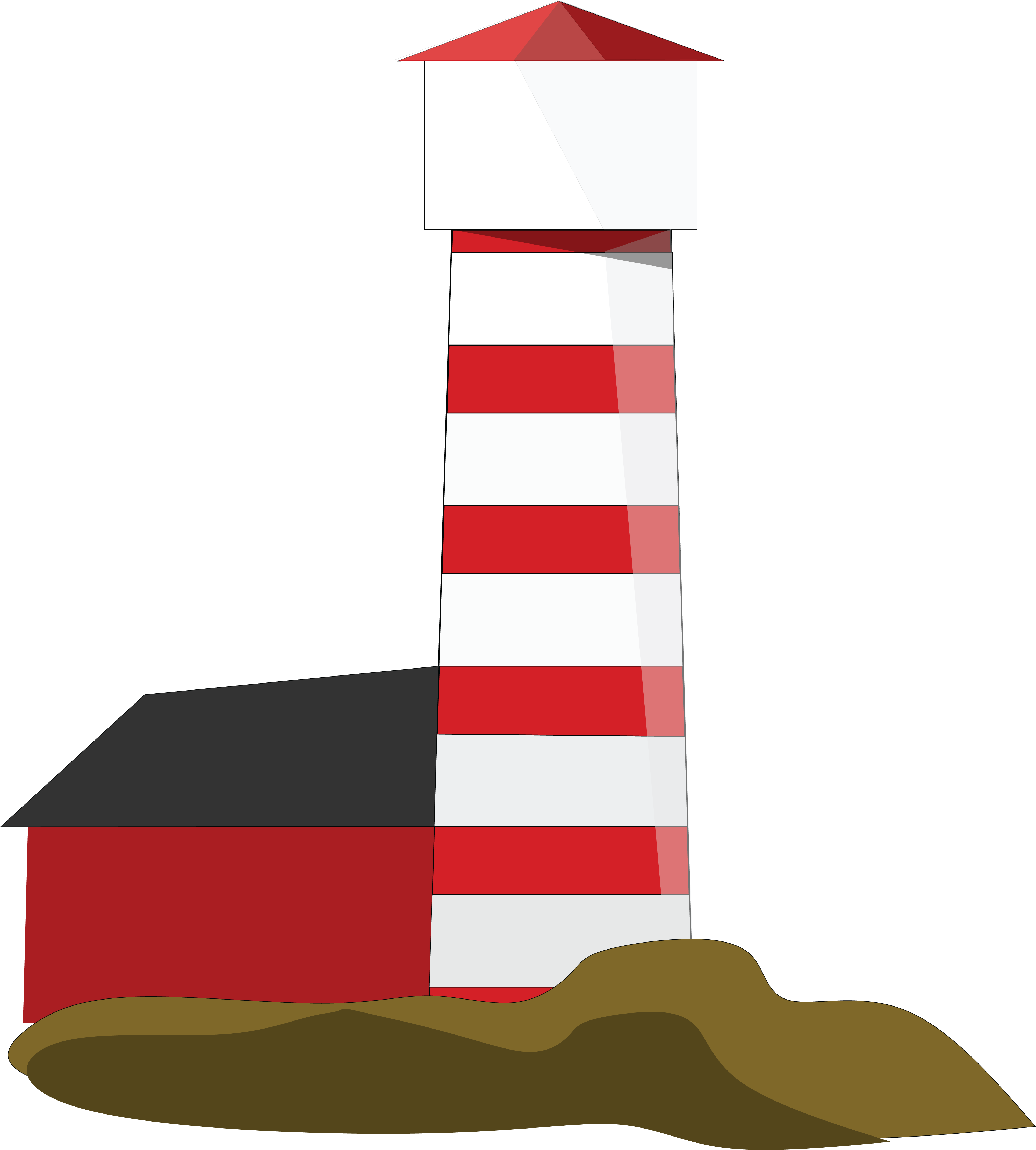 4000x4440 Free Clipart Of A Lighthouse