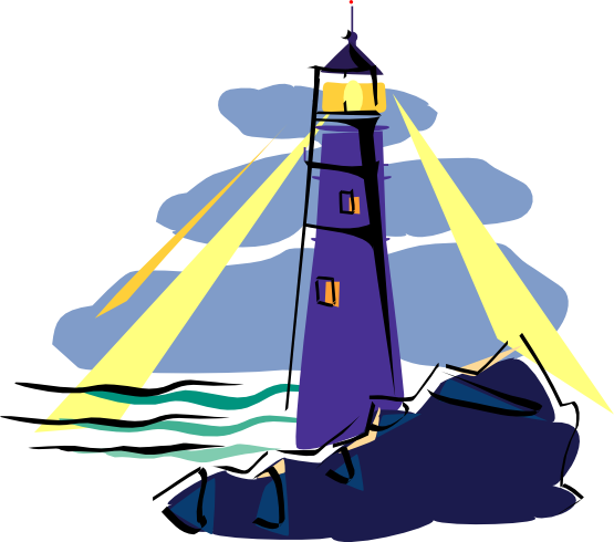 555x490 Free Lighthouse Clip Art