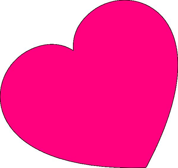 600x566 Pink Heart Clipart 2214466