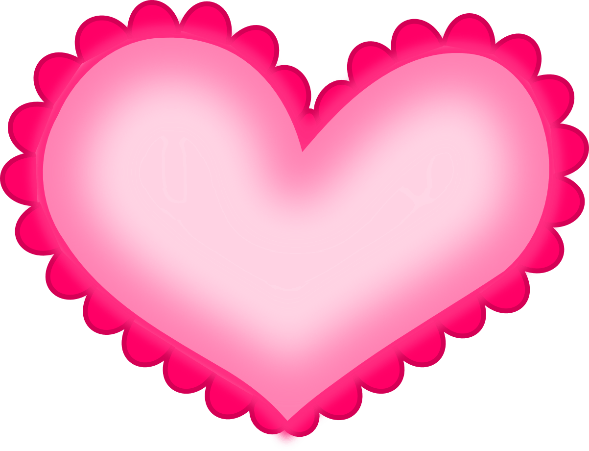 1203x920 Pink Heart Cliparts