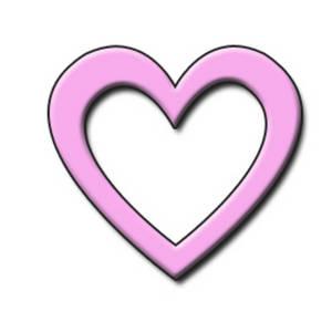 300x300 Pink Clipart Heart Shape