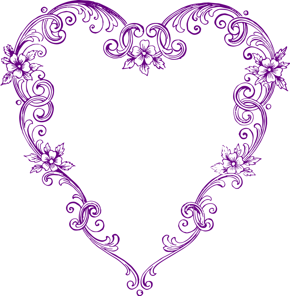 937x955 Purple Heart Clip Art