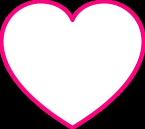299x267 Heart Clipart Pink