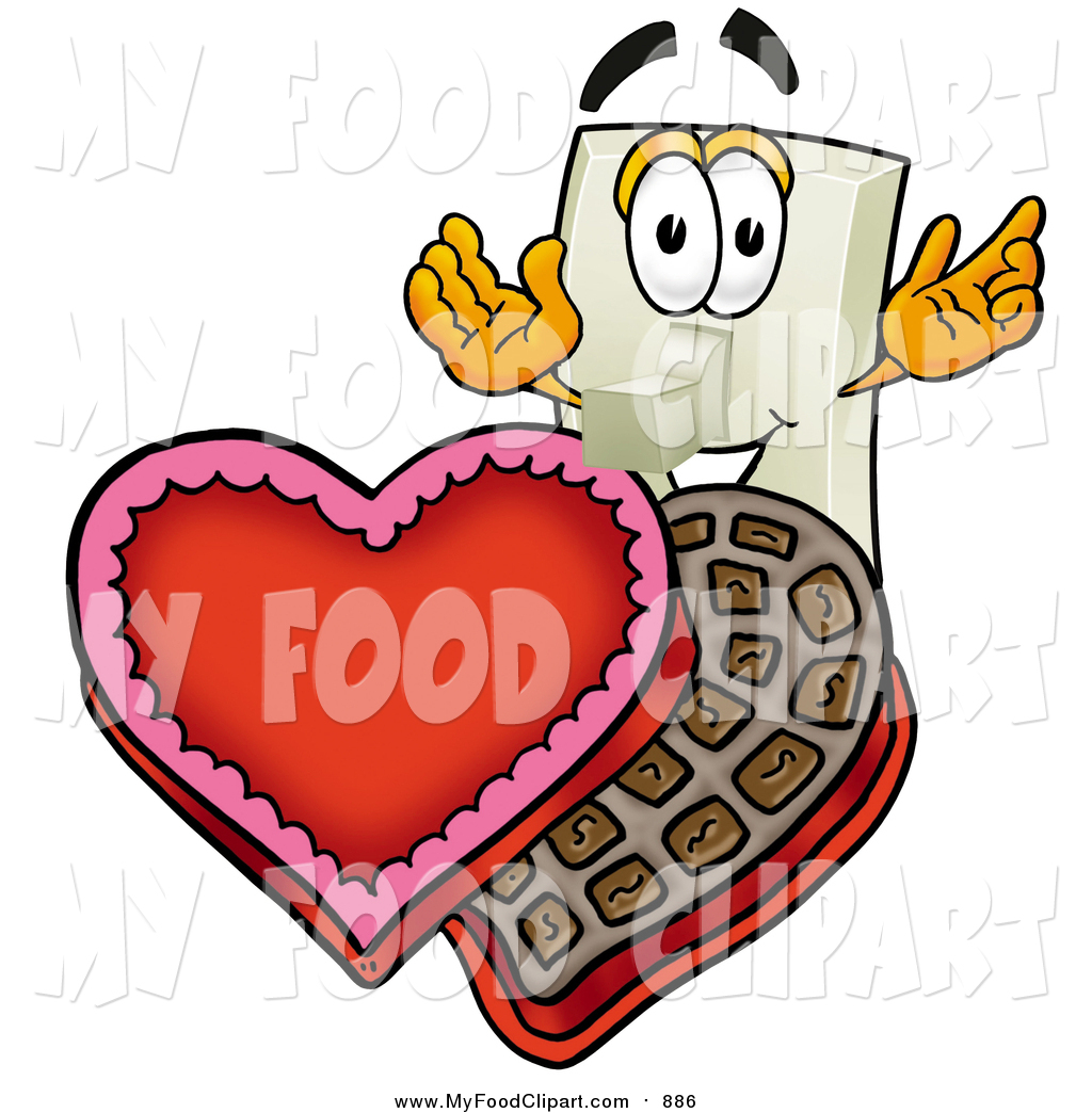 1024x1044 Food Clip Art A Light Switch Character With An Open Box